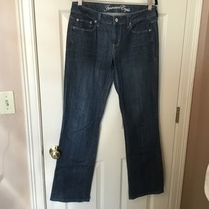 American Eagle True Boot Blue Jeans - Size 8